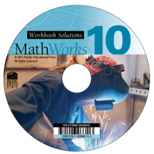 MathWorks 10 Student Workbook Solutions (CD)