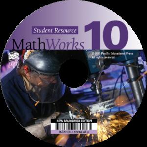 MathWorks 10 New Brunswick Edition Student Resource Digital (CD)