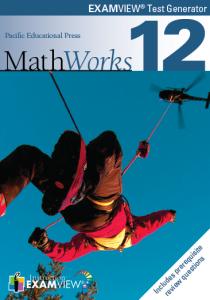 MathWorks 12 ExamView Test Bank